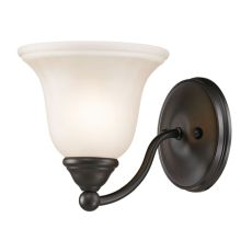 Shelburne 1 Light Bathbar  In Oil Rubbed Bronze