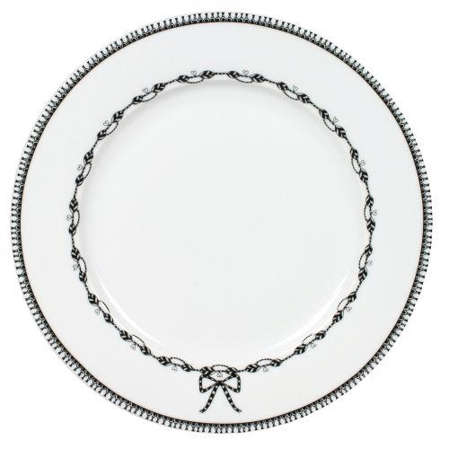 """Plate Chain - 10"""" , White"""