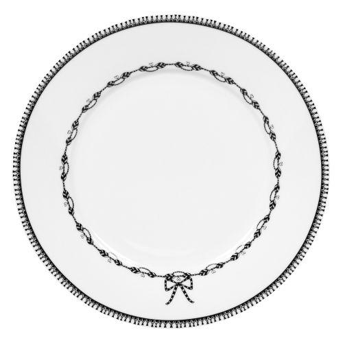 """Plate Chain - 9"""", White"""