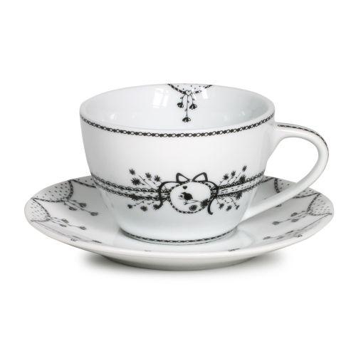 Cappuccino Cup & Saucer, 11 Oz