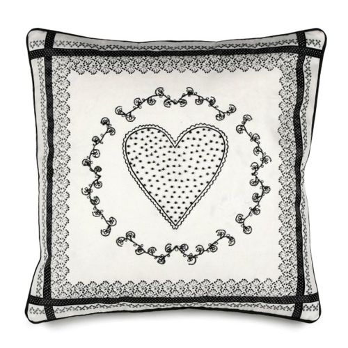 Pillow Cover W/ Large Heart