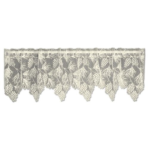 Woodland 60X16 Window Valance, Ecru