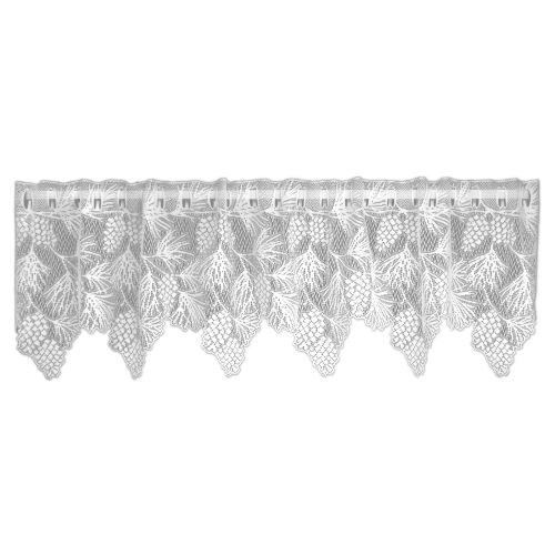 Woodland 60X16 Window Valance, White