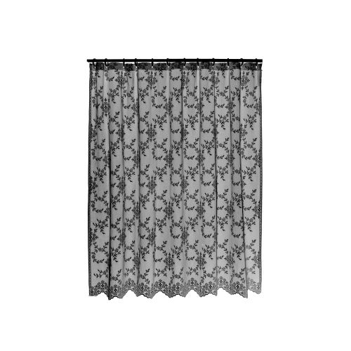 Yorkshire 72X72 Shower Curtain, Black