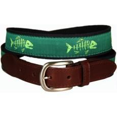 Rogue Fish leather Tab Belt