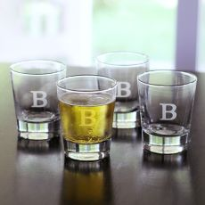 13.25 Oz. Double Old Fashioned Glasses(Set Of 4)