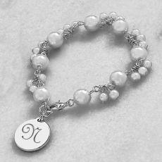 White Romance Pearl Bracelet