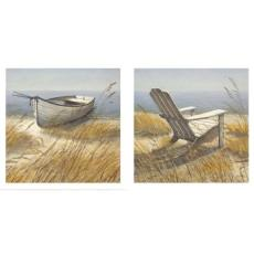 Shoreline Chair and Shoreline Boat Art