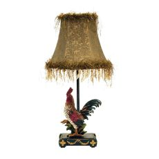 Petite Rooster Table Lamp In Ainsworth Finish