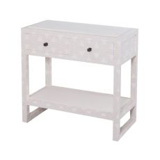 Bedford Fabric Wrapped 2 Drawer Bedside Table