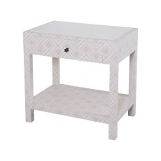 Kent Fabric Wrapped Bedside Table