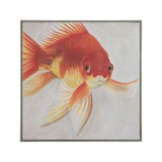 Mr. Bubbles 36-Inch Wall Decor With Solid Mahogany Frame