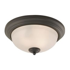 Huntington 3 Light Ceiling Lamp In Oil Rubbed Bronze