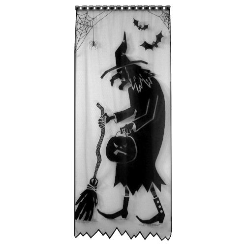 Witch 38X84 Window Panel, Black