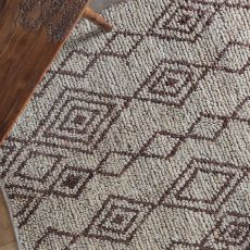 Onam Brown 8 x 10 Rug