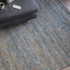 Euston Natural-Blue 8 x 10 Rug