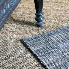 Luxor Charcoal 9 x 12 Rug