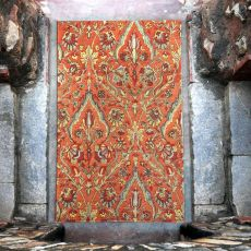 Keziah Burnt Red 9 x 12 Rug