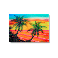 Key West Harbor Sunset Cutting Board