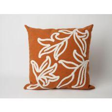 "Liora Manne Visions I Windsor Indoor/Outdoor Pillow - Orange, 20"" Square"