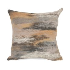 "Liora Manne Visions I Vista Indoor/Outdoor Pillow Taupe 12""x20"""