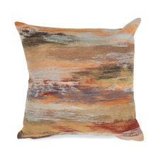 "Liora Manne Visions I Vista Indoor/Outdoor Pillow Multi 12""x20"""