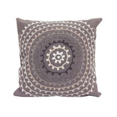 "Liora Manne Visions Ii Ombre Threads Indoor/Outdoor Pillow - Grey, 20"" Square"