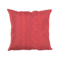 "Liora Manne Visions Ii Celtic Grove Indoor/Outdoor Pillow - Red, 20"" Square"