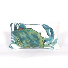"Liora Manne Visions Iii - Blue Crab, 12"" By 20"""