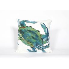 "Liora Manne Visions Iii - Blue Crab, 20"" Square"