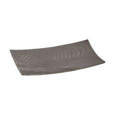 Khronos Textured Rectangular Bowl - Small