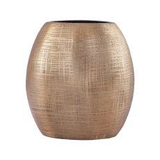 Kolkata 7-Inch Vase In Gold