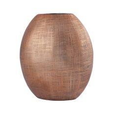 Kolkata 10-Inch Vase In Copper