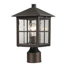Shaker Heights Post Lantern In Hazelnut Bronze