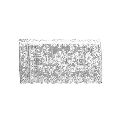 Aristocrat 60X18 Window Valance, White