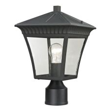 Ridgewood Post Lantern In Matte Textured Black