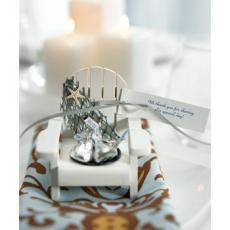 Wooden Deck Chair Candle/ Favor Holders