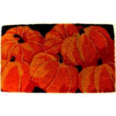 Pumpkins Hand Woven Coconut Fiber Doormat