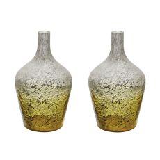 Lemon Ombre Bottle - Set Of 2