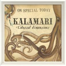 Kalamari Of Colossal Dimensions Framed Art
