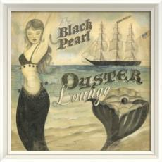 The Black Pearl Oyster Lounge Framed Art