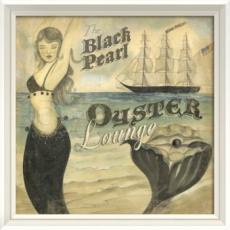 The Black Pearl Oyster Lounge Framed Art