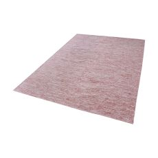 Alena Handmade Cotton Rug In Marsala And White - 8Ft X 10Ft