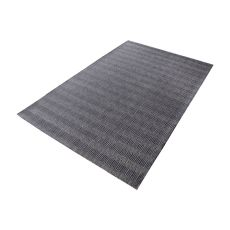 Ronal Handwoven Cotton Flatweave In Charcoal - 5Ft X 8Ft