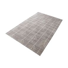 Armito Handtufted Wool Rug In Warm Grey - 5Ft X 8Ft