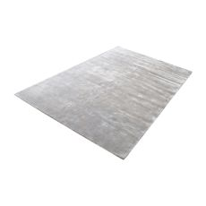 Auram Handwoven Viscose Rug In Silver - 3Ft X 5Ft