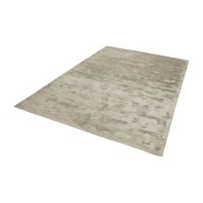 Auram Handwoven Viscose Rug In Stone - 5Ft X 8Ft