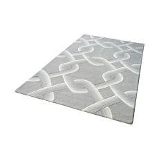 Desna Handtufted Wool Rug In Grey - 5Ft X 8Ft