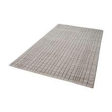 Blockhill Handwoven Wool Rug In Chelsea Grey - 5Ft X 8Ft