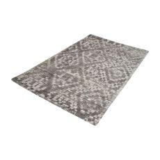Darcie Handtufted Wool Distressed Printed Rug - 5Ft X 8Ft